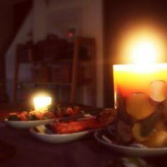 キャンドル/クリスマスの食卓…などのインテリア実例 - 2014-12-24 04:02:33