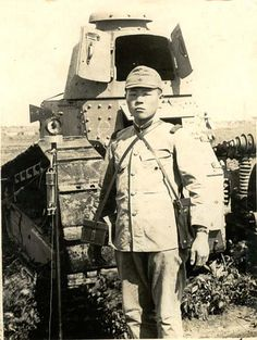 Renault FT17 tank used by Japanese Army | Flickr - Photo Sharing!