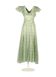 Dress, c. 1930, Museo del Traje.