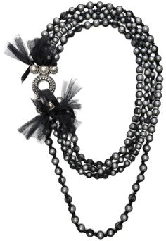 10 Year Anniversary Pearl Necklace Lanvin