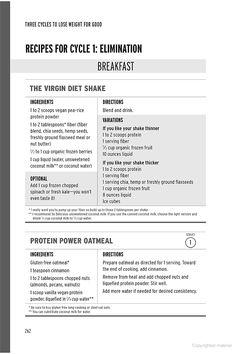 The Virgin Diet: Drop 7 Foods,- JJ Virgin - gluten free Strawberry Banana Protein Shake Recipe, Protein Shake Recipes, Jj Virgin Diet, Shake Diet, Food Intolerance, Diet Breakfast, Breakfast Ideas, Sugar Detox, Diet Plans To Lose Weight