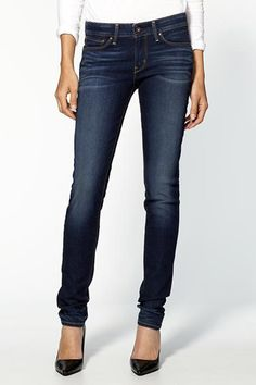 The Curvy Skinny Jean — Levi's is the king when it comes to fit, and curvy girls should look to them first for jeans that flatter in the waist, the butt, the thighs, and the calves.   Levi's Bold Curve Skinny Jeans, $78, available at Piperlime.