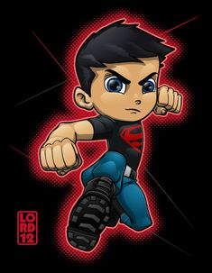 Young Justice- Superboy by lordmesa.deviantart.com