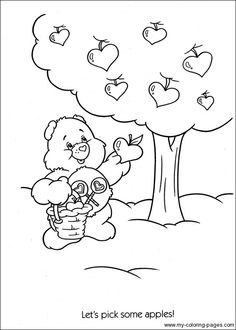 Care Bears Coloring-017