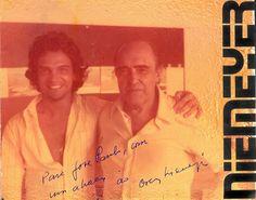 EU - José Paulo Narciso da Rocha Jr e meu AMIGO Oscar Niemeyer - Patrono na minha colação de grau