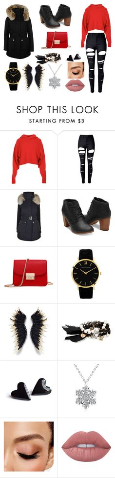 """""""Untitled #163"""" by melina-231 ❤ liked on Polyvore featuring TIBI, WithChic, K100 Karrimor, Chloe + Isabel, Avon and Lime Crime"""