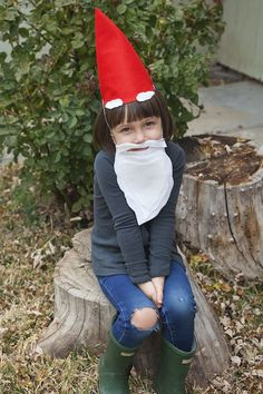 Creative last-minute Halloween costumes for kids: Garden gnome DIY at  Julep