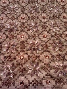 Couture Embroidery, Beaded Embroidery, Cross Stitch Embroidery, Embroidery Designs, Stitch Design, Elsa, Applique, Projects To Try, Beads
