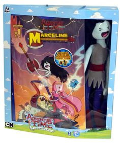 Amazon.com: Adventure Time Fan Favorite Deluxe Plush Marceline: Toys & Games