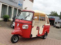 Piaggio Ape Calessino 200 Other searches are vespacar, tuktuk