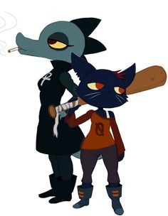 night in the woods fanart | mae and bea by ss2sonic watch fan art digital art drawings games 2017 ...