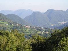 Val d'Intelvi, tra Ceresio e Lario