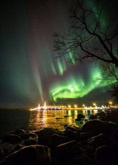 Borealis Lights, Old Country Churches, Baltic Sea, Aurora Borealis, Travel Quotes, Places To See, Norway, Landscape Photography, Travel Inspiration