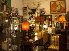 Slightly chaotic and bohemian (and that's just the staff), Ooh-La-La is piled high with second-hand treasure from the early 1900s onwards.