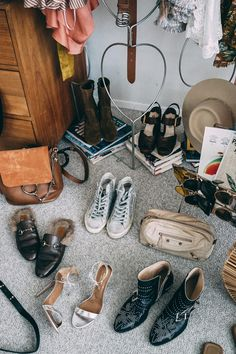 Palm Springs Closet | Collage Vintage