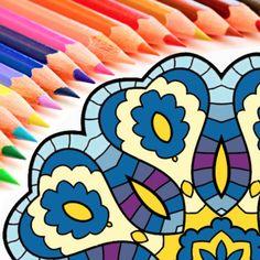 #NEW #iOS #APP Colorfy - Coloring Book For Family Basic - Hoang Khoa