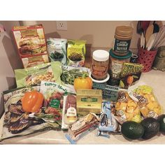 Tonight I went to Trader Joe's for the first time  this was my grocery haul! They def need to build one in my town now cuz it is the greatest place EVER!!! Thank you for all the suggestions for what to buy! Sadly they did not have the elusive cauliflower rice  but no worries I know I will def be going back! #traderjoes #keto #lowcarb by lazy_keto