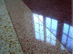 23 best diy terrazzo flooring images on pinterest terrazzo see here many marvelous photos of terrazzo our video nbsp for more resources cleaning terrazzo floors tampa fl solutioingenieria Image collections