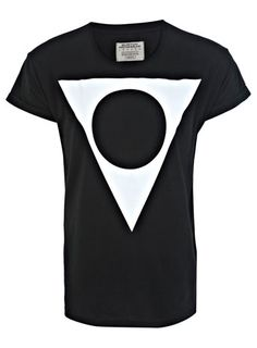 Another monochrome geometric printed t-shirt we're in love with at Burton HQ