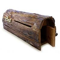 Teak post box from Novica $117.95 | StylishHome