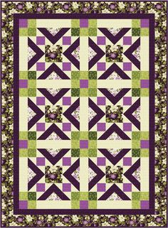 Easy quilt pattern for Spring or Summer. Ribbon Cascade Quilt Pattern BS2-460 by Rose Cottage Quilting - Barb Sackel.  Check out more of our quilt patterns. https://www.pinterest.com/quiltwomancom/quilts/  Subscribe to our mailing list for updates on new patterns and sales! http://visitor.constantcontact.com/manage/optin?v=001nInsvTYVCuDEFMt6NnF5AZm5OdNtzij2ua4k-qgFIzX6B22GyGeBWSrTG2Of_W0RDlB-QaVpNqTrhbz9y39jbLrD2dlEPkoHf_P3E6E5nBNVQNAEUs-xVA%3D%3D