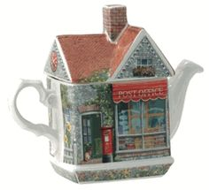 James Sadler Teapots - Post Office
