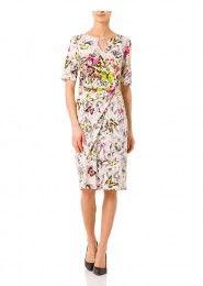 Jersey-Kleid mit Allover-Print  #kleid #schmetterlinge #print