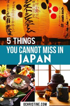 If you travel to Japan these are the 5 things you absolutely need to experience. You will fall in love with the Japanese food and culture! Japan Travel Guide, Asia Travel, Travel Guides, Travel List, Travel Hacks, Travel Advice, Japan Destinations, Amazing Destinations, Japanese Travel