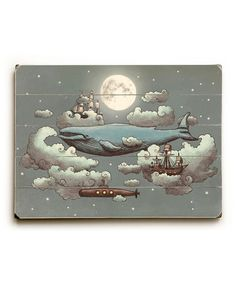 So very, very me.  Take a look at this Ocean Meets Sky Wall Art by ArteHouse on #zulily today!