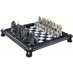 Final Challenge Chess Set featuring polyvore, harry potter, games and stuff