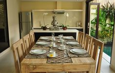 Bali Villa Table Setting