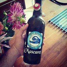 Aujourd'hui, je goute la bière artisanale girondine Mascaret ce midi ! #bière #été