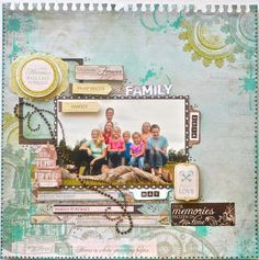 Layout made using the Heirloom Collection from Kaisercraft By Kelly-ann Oosterbeek. Scrapbooking Layouts, Scrapbook Pages, Step Cards, Daylight Savings Time, Together Forever, Dream Big, Family Portraits, Good Books, Sketches