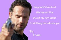 The Walking Dead M Valentine   The Walking Dead Valentines