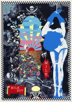 Our evolving collection contains almost works of modern and contemporary art. Caption: The Museum of Modern Art, designed by Yoshio Taniguchi. Japanese Graphic Design, Vintage Graphic Design, Graphic Art, Tadanori Yokoo, James Rosenquist, Black Pin Up, Claes Oldenburg, Jasper Johns, Roy Lichtenstein