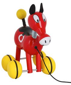 Roudoudou The Horse Wooden Pull Along Toy, Vilac
