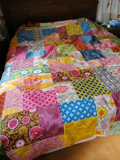 good folks quilt ~ Love!! by lindakl, via Flickr