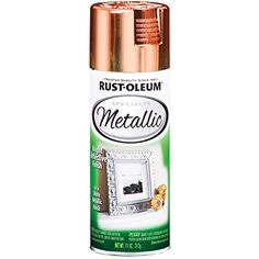 Rust-Oleum Metallic Spray Paint 11oz-Copper