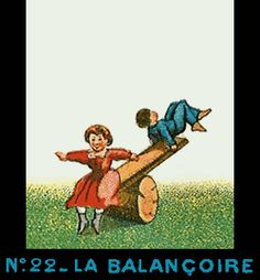 Bande de Praxinoscope n°22 - La Balançoire