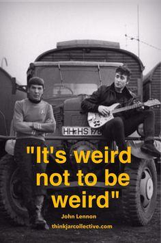 John Lennon quote. Creativity quotes