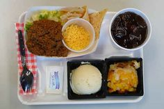 Austin, Texas | 16 School Lunches From Around The World Wtf is this?  That wasn't MY school lunch