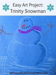 Our household has been learning about the trinity through the Westminster catechism in our Sound Words curriculum. Turns out, there are several ways to describe the trinity to children using seasonal object lessons (shamrock, apple, triangle, etc.) Of course, these are just a hint of the full truth and no substitute for acknowledging the mysterious …