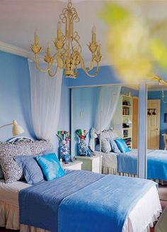 blue and gold on pinterest gold bedroom blue bedrooms and marie