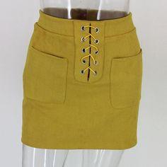 Dana Bandage Mini Skirt