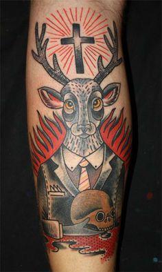 DENO - Madrid, España Tattoo / Tatuagem