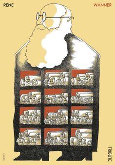 Tributo a Rene Wanner: SR CARTEL  Elmer Sosa. México Bienal del Cartel Bolivia. BICeBé 2013