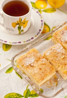 Творожно-лимонный пирог - Вкусная жизнь