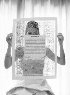Even though I'm not jewish, I'd love to have a Ketubah. I might illustrate my own and have my and my fiancé's vows on it. Such a beautiful document.
