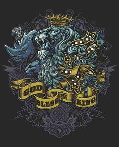 T-Shirt Illustrations by Rubens Scarelli | Abduzeedo Design Inspiration