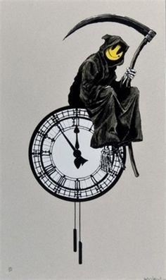 Banksy - Grin Reaper